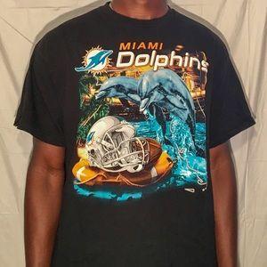 Men's NFL Vintage Miami Dolphins T Shirt